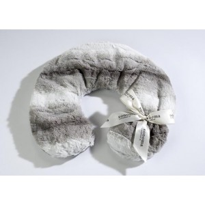 Lavender Neck Pillow Platinum Angora