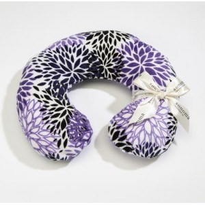 Purple Bloom Neck Pillow