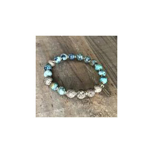 African Turquoise Essential Oil Bracelet