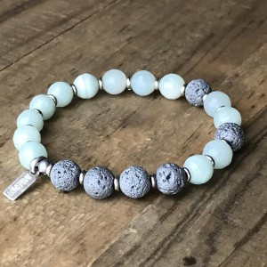 Amazonite Essential Oil Bracelet