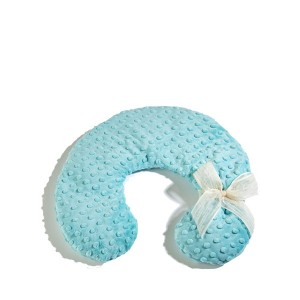 Aqua Dot Neck Pillow