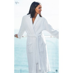Cozy Robe White Size 2