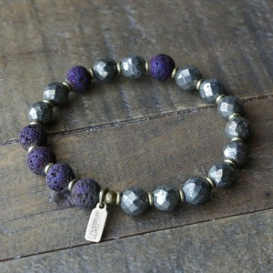 Pyrite Essential Oil Bracelet