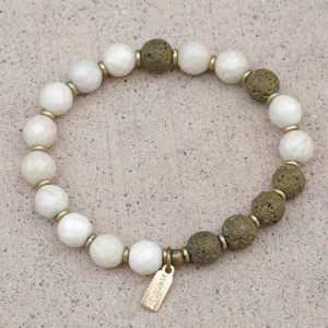 Riverstone Essential Oil Bracelet