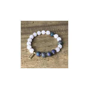 Rose Quartz Essential Oil Bracelet
