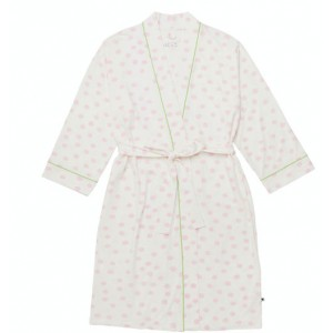 Sprinkle Dots Robe - Pink